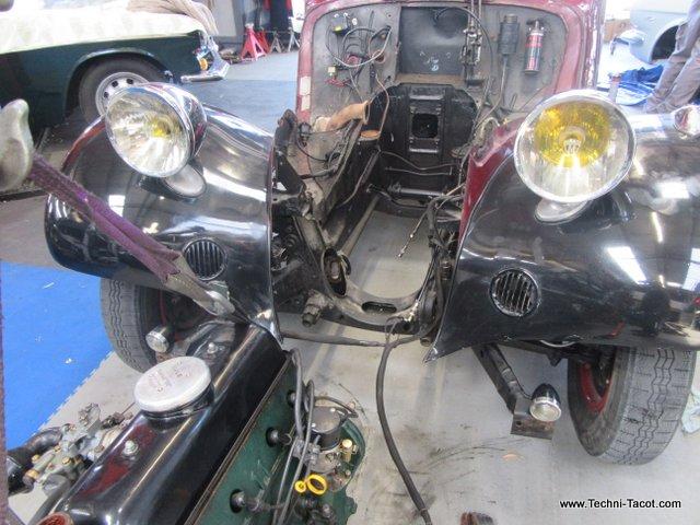 embrayage disque boite vitesses citroen traction 1935