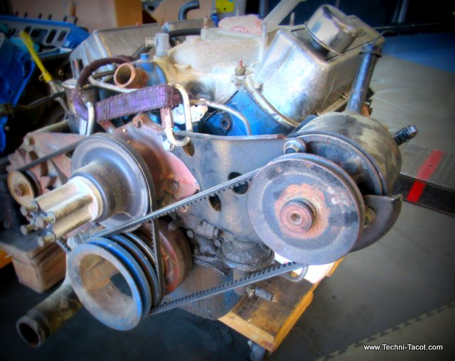 V8 ford mustang reparation