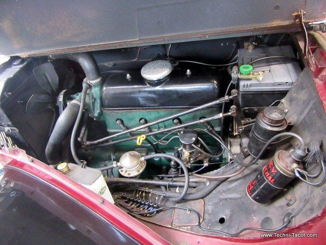 moteur citroen traction