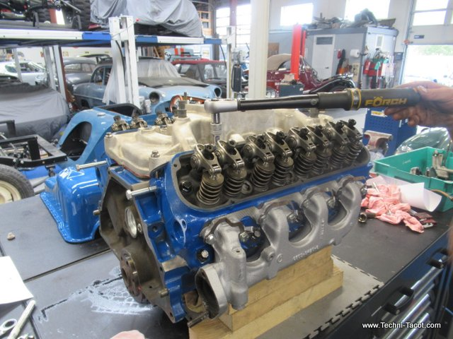 remontage moteur v8 engine ford mustang 289