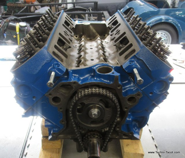 v8 ford mustang 289 reconditionnement