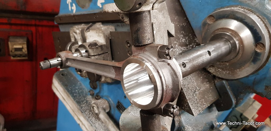 restauration moteur salmson S4 61 refection