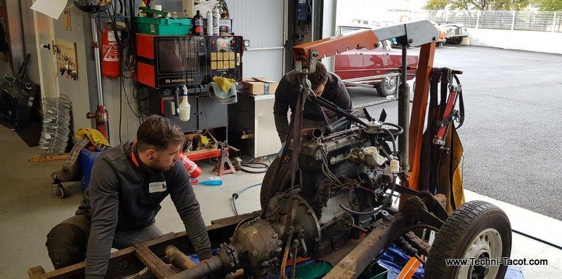 depose moteur salmson S4 techni tacot