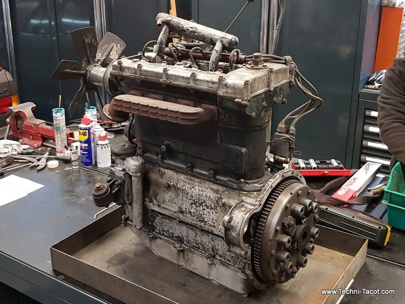 démontage moteur salmson s4 restauration
