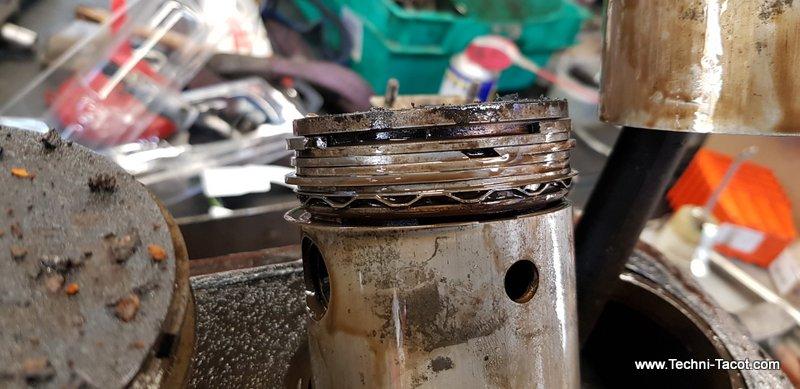 démontage moteur salmson s4 restauration bloc cylindres