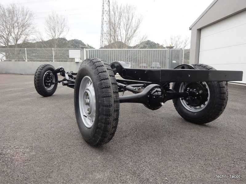 remontage chassis salmson S4 61
