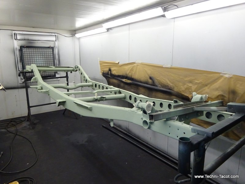 restauration châssis Salmson S4 61 techni tacot