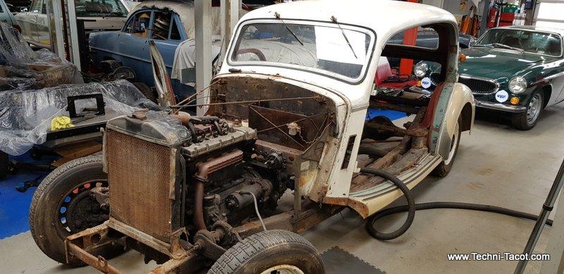 restauration salmson S4 1961 techni tacot