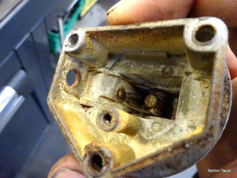 réparation jauge carburant salmson, s4 61