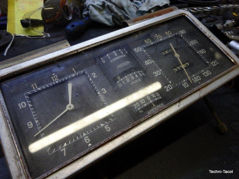 tachymètre compteur manomètre salmson s4 61