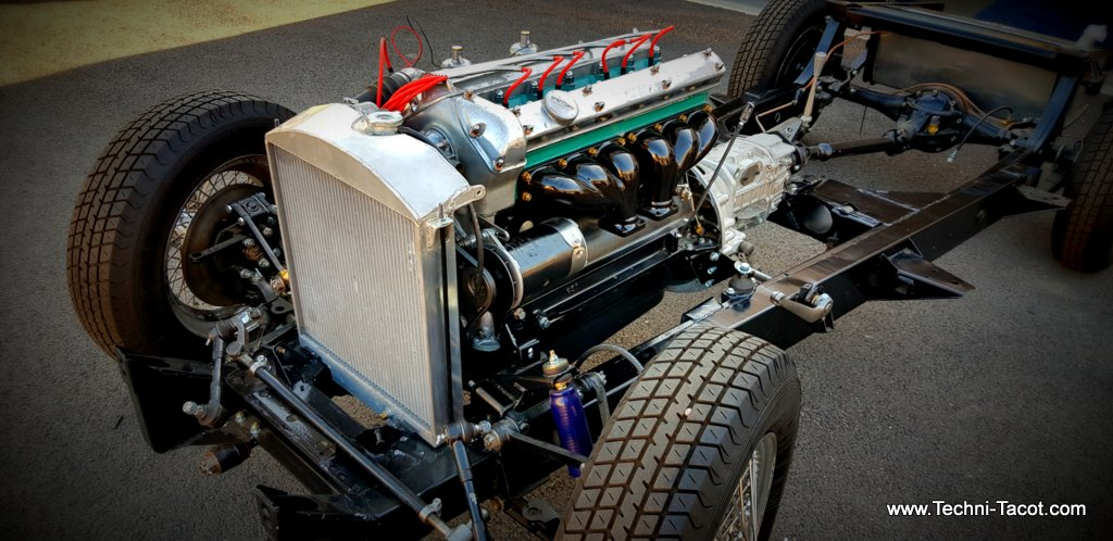 restauration jaguar XK 120