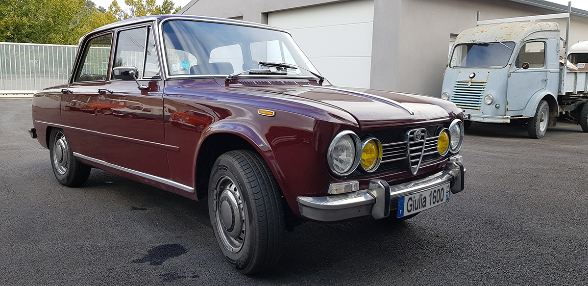Restauration alfa giulia 1600 super