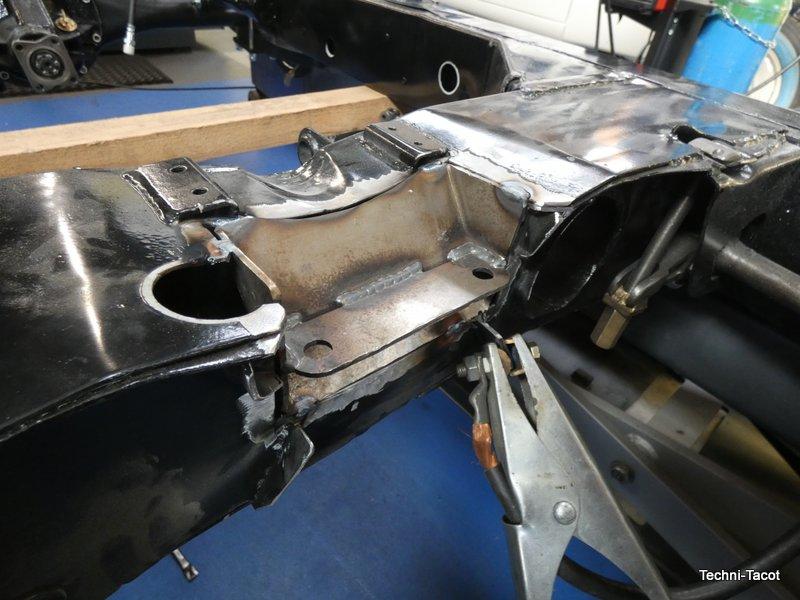 montage boite 5 jaguar MK1 SK 120