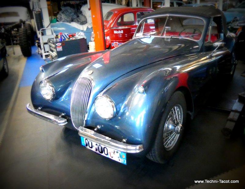 jaguar xk 120 restauration