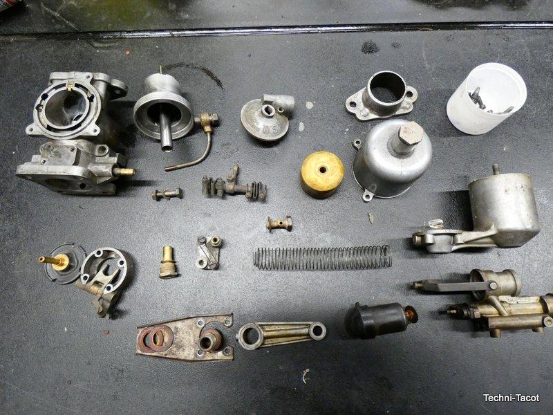 carburateur SU jagaur SK 120