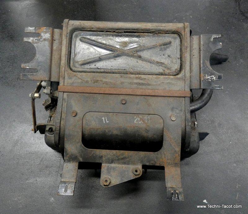 bloc chauffage ventilaiton alfa giulia 1600