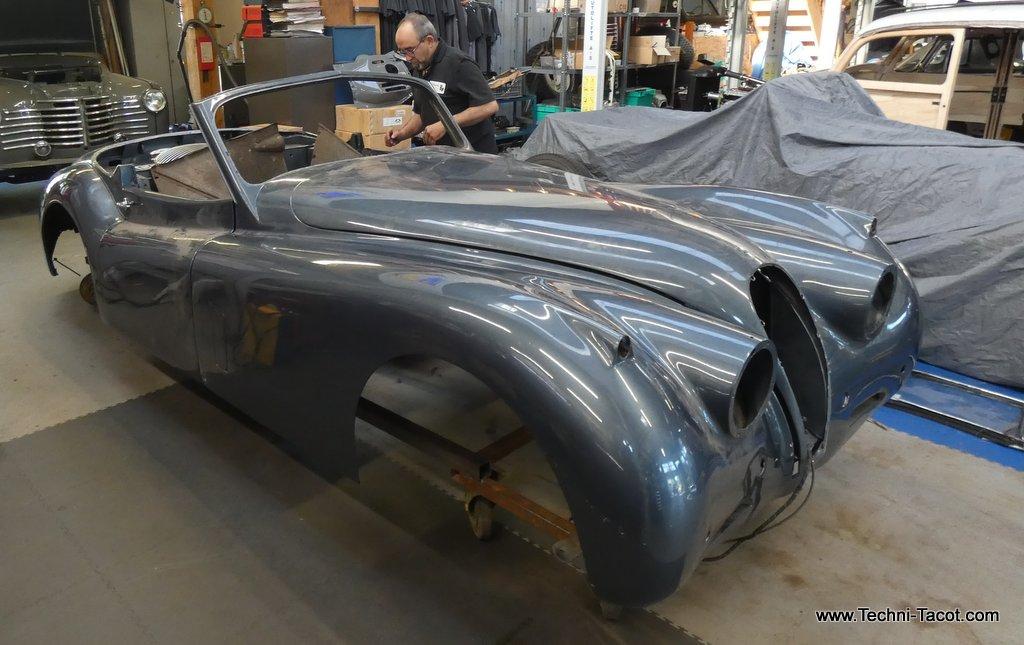 restauration jaguar xk 120 techni tacot