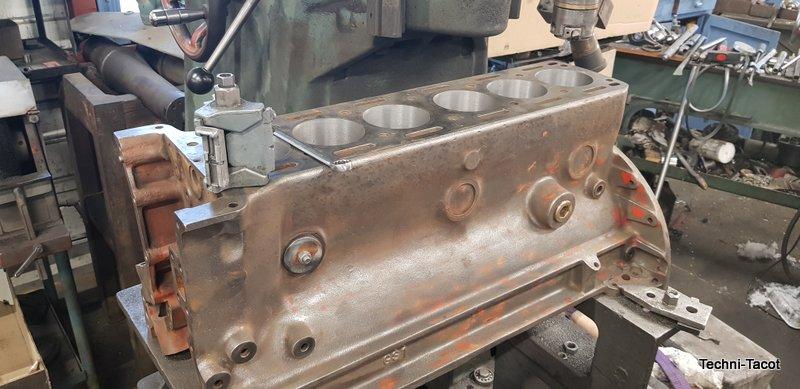 reconditionnement moteur jaguar xk 120 MK1