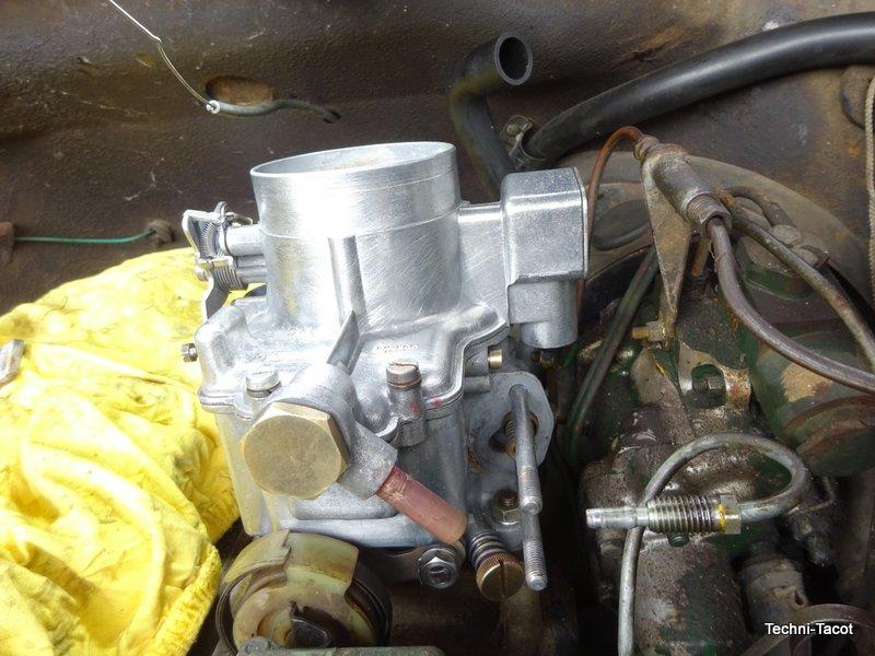 carburateur weber dm4 citroen ds 21 moteur