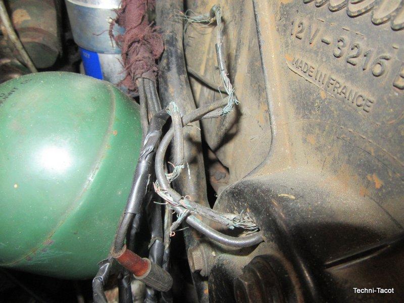 sphére hydraulique conjoncteur frein citroen ds 21