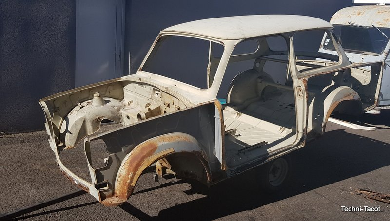trabant restauration 601