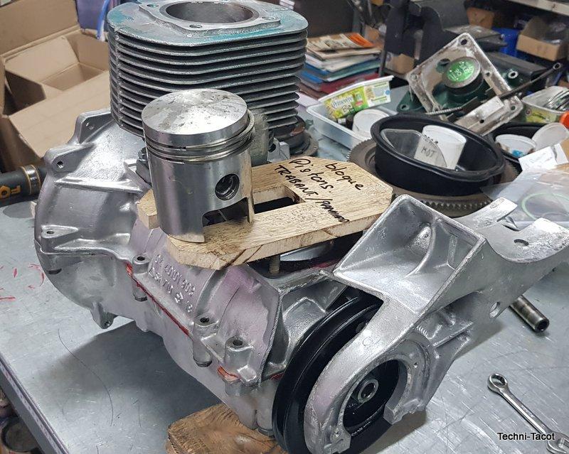 restauration moteur trabant 601