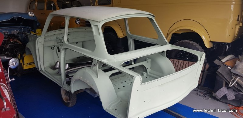 restauration trabant 601 carrosserie