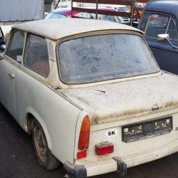 restauration trabant 601 voiture sauvetage