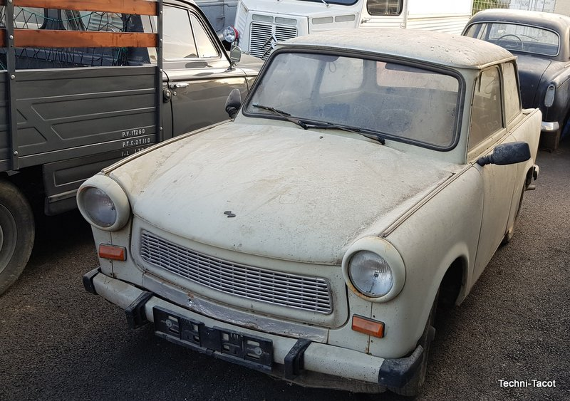 restauration trabant 601