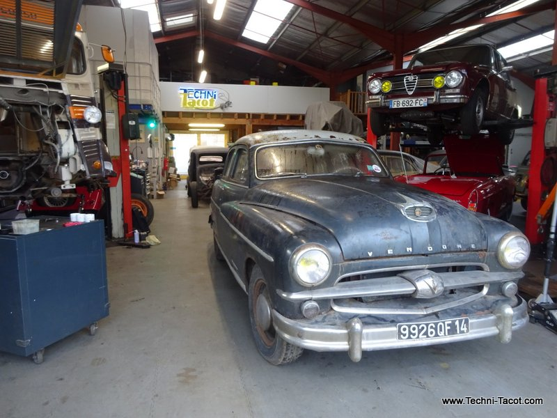 Ford vendome restauration