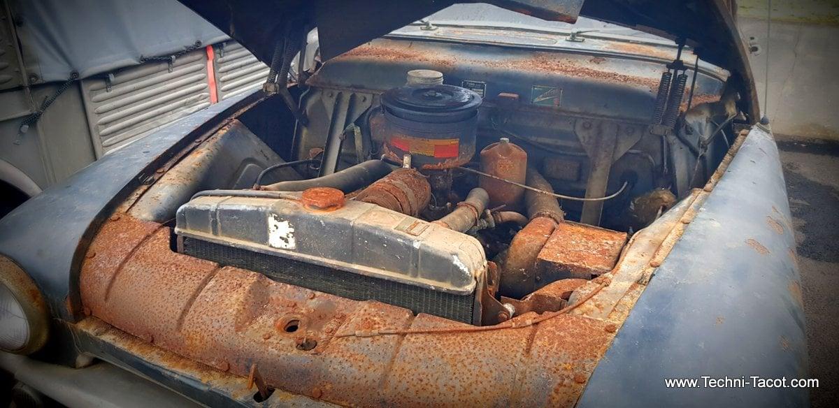 moteur V8 Ford Vendôme