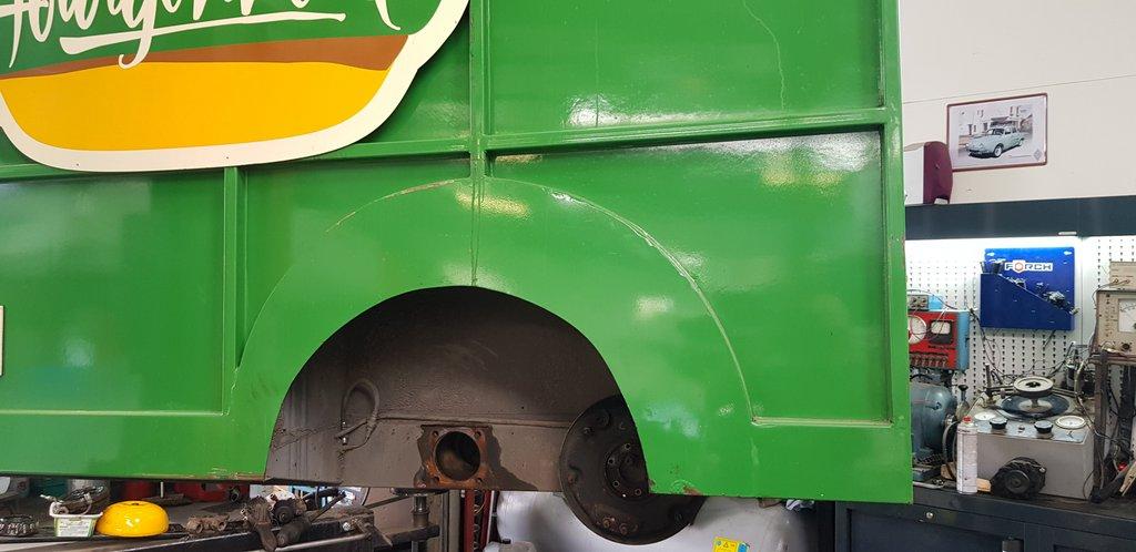 train arrière citroen hy moyeu réparation